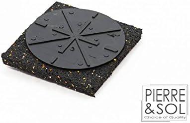 Plot Fixe 19 mm sur support polyur/éthane C0 Solidor RC plat