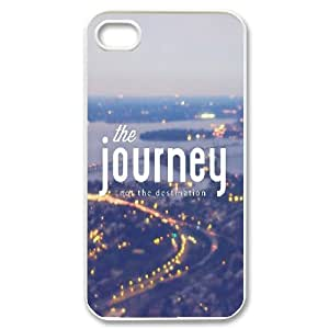 Dustin Funny Quote IPhone 4/4s Cases the Journey, [White]