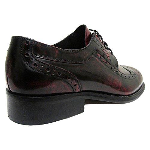 Ikon - Chaussures Kromby en cuir pour homme - northern soul/années 60 - bordeaux