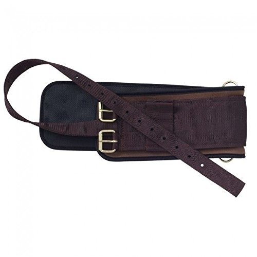 tough-1-australian-outrider-collection-neoprene-girth-brown-30-inch