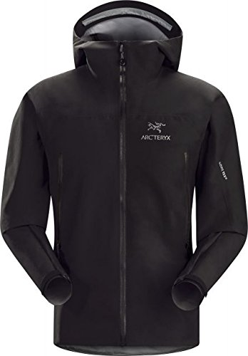 Arc'teryx Zeta LT Jacket Men's (Black, Large) (Bi Layer Jacket)