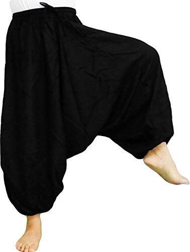 Black Harem Pants - 6