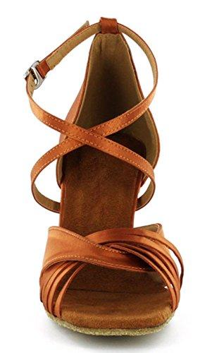 mujer TDA Bronze Zapatos con 7 5cm tacón 6t4AwCtq