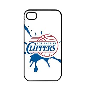 NBA Los Angeles Clippers Logo Case For HTC One M7 Cover PC Soft (Black)