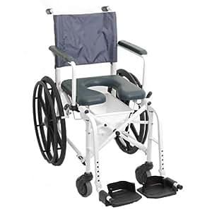 Invacare marinertm rehab ducha silla con orinal silla de ruedas asiento tama o w x 40 - Tamano silla de ruedas ...
