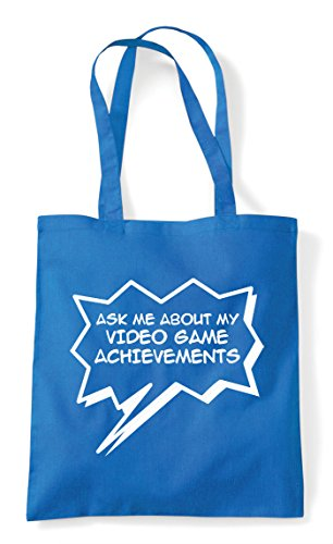 Bag Achievements Shopper Sapphire About Tote Game My Me Gaming Statement Video Ask 67HzXz