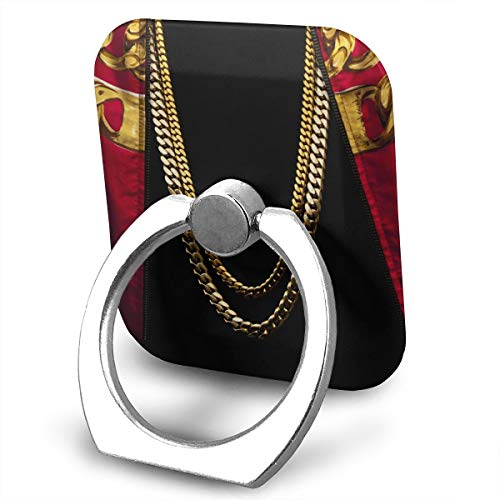 EdithL 2 Chainz Based On A T.R.U. Story Cellstand Finger Ring Stand Holder, Car Mount 360 Degree Rotation Universal Phone Ring Holder Kickstand for iPhone/iPad/Samsung