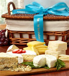 Image Unavailable Not Available For Color Birthday Premium Handcrafted Cheeses Gift Basket