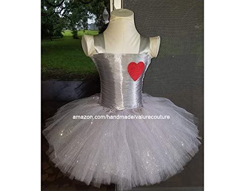 Tin Man Inspired Tutu Dress Costume Pageant Birthday Girls Halloween Newborn Infant Toddler Baby Outfit Onesie Shirt Bow Party Princess Kids Gift Topper Favors -