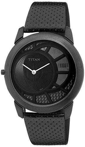 Titan Edge Dress Watch With Black Pvd Titanium Case
