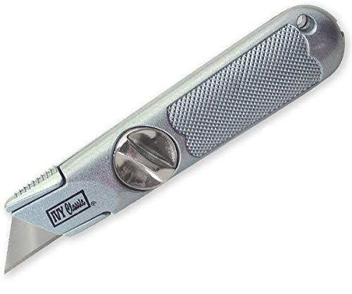 IVY Classic 11154 Hinge-Loc Fixed Utility Knife, 1/Card