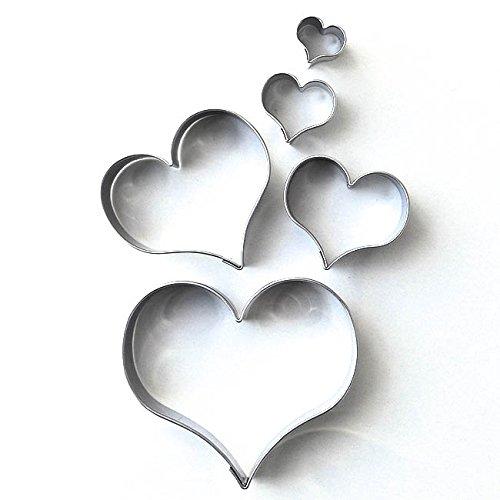 Ausstechformen in Herzform