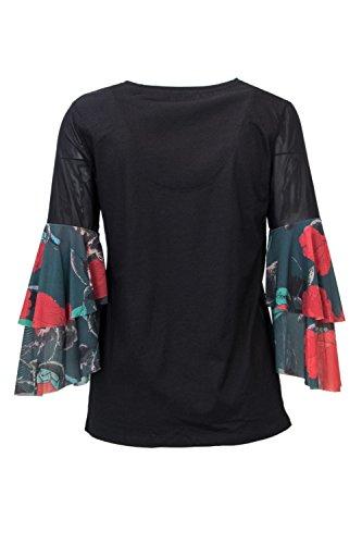 Desigual Mujer Blusas Negro Desigual Mujer Blusas Negro Desigual O7FI1q
