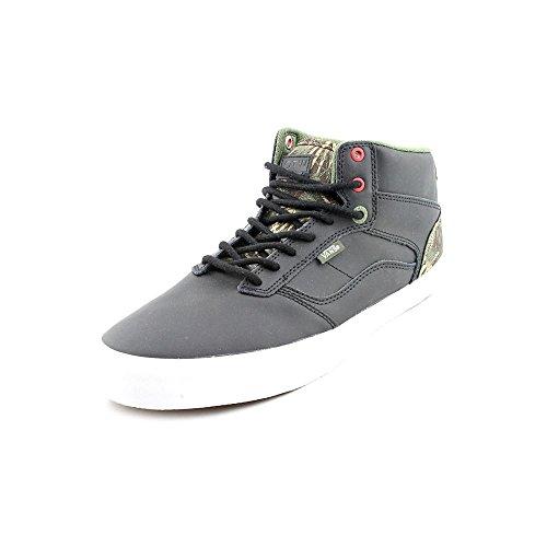 Vans - Zapatillas de deporte de tela para hombre negro negro