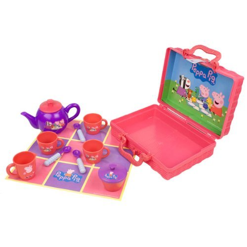 Tea Hamper - Peppa Pig Picnic Tea Set In Hamper