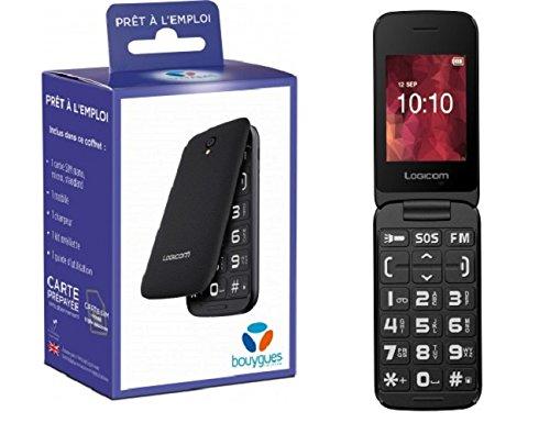 T/él/éphone Portable Logicom L248 Dual SIM 053 Mobile Bouygues Telecom