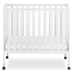 The unique hinges allow the crib to fold flat for compact storage or travel. Included is the stationary (non drop side) rail design which provides the utmost in product safety. Made of solid Pine and having a beautiful Non-toxic finish, this ...