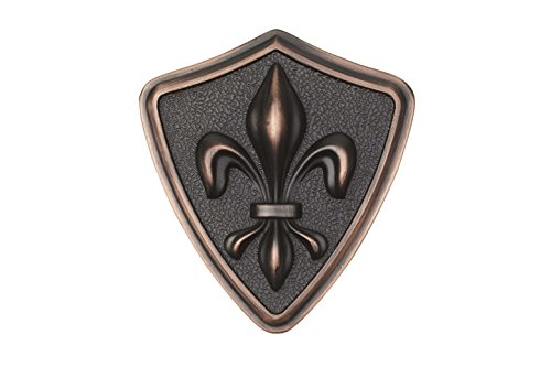 Architectural Mailboxes 3620ORB Aluminum Oil Rubbed Bronze Fleur De Lis -