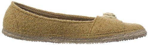 krokant Giesswein Pantofole Marrone braun Donna Lenzfried 241 wSq0a