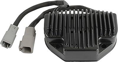 DB Electrical AHD6027 New Voltage Regulator/Rectifier 12-Volt For Harley Davidson Dyna Models 74631-06