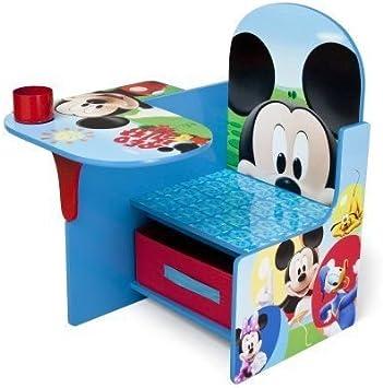 Disney Mickey Mouse Chaise De Bureau Enfants De Paniers De Rangement Meubles Amazon Fr Cuisine Maison