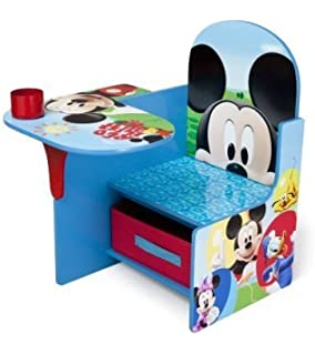 Disney Mickey Mouse CHAIR DESK, Storage Bin KIDS FURNITURE