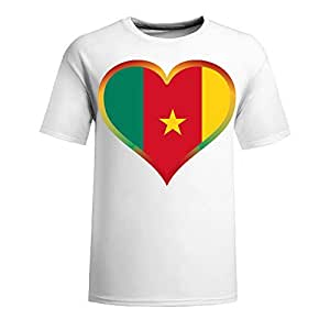 Brasil 2014 FIFA World Cup Theme Short Sleeve T-shirt,Football Background Mens Cotton shirts for Fans navy by mcsharks
