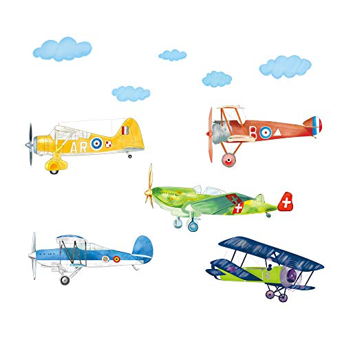 Best airplane wall decor for boys for 2019