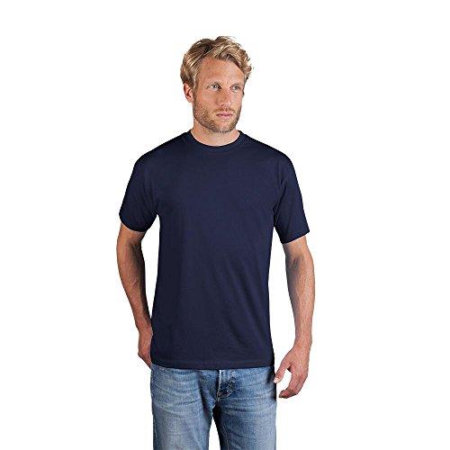 Original Promodoro ® Premium Herren T-Shirt Marine im praktischen 5er und 10er Pack (XS-5XL) 180 g/m² Single Jersey (XXXL, navy - 10er Pack)