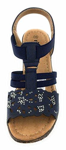 Pep Step 2722005/00003 - Sandalias de vestir para mujer 00003navy