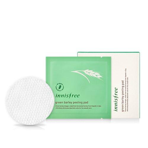 Innisfree-Green-Barley-Peeling-Pad