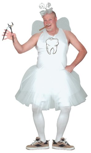 [Tooth Fairy Costume - Standard - Chest Size 33-45] (Tooth Fairy Costumes)