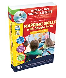 Mapping Skills with Google Earth Big Box Gr. PK-8 - Digital Lesson Plan