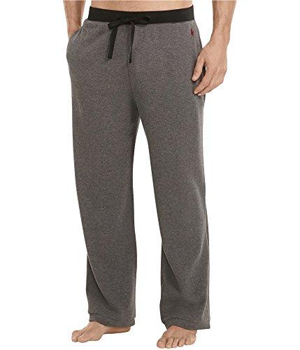 - Polo Ralph Lauren Waffle Knit Pajama Pants (Charcoal Heather, Medium)