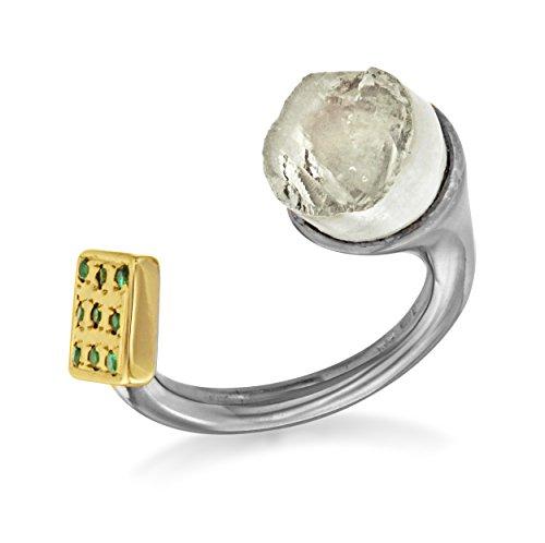 Didi - RG03 S - Bague Femme - Argent 925/1000 7.17Gr - Améthyste/Cristal