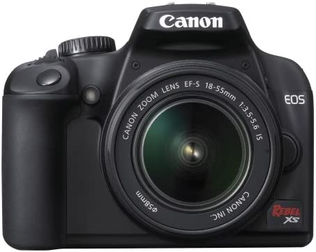 Canon Rebel XS DSLR Camera with EF-S 18-55mm f/3.5-5.6 IS Lens (Black) (OLD MODEL)