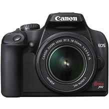 Canon Rebel XS DSLR Camera with EF-S 18-55mm f/3.5-5.6 IS Lens (Black) (OLD MODEL)