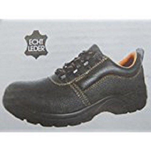 De Preto De 45 Trabalho Segurança Genuíno Couro S3 Calçado De Cm Sapatos Bvpn7qqg