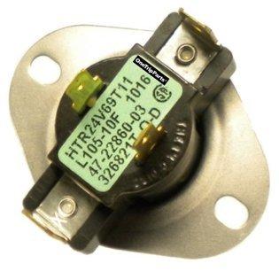 Rheem OEM Furnace Replacement Limit Switch L105-10 47-22860-03
