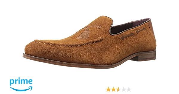 c46a3e69b007 Amazon.com  Ted Baker Men s Cannan Tan Suede 8 D US  Shoes