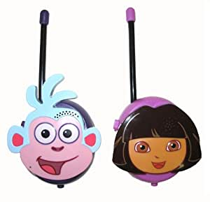 Walkie Talkie 19067 Nickelodeon Dora and Boots