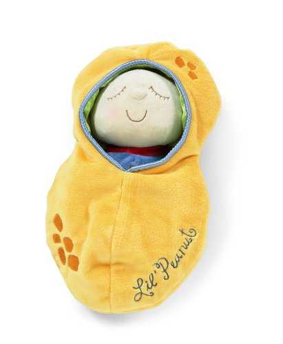 412bu1uCTYL - Manhattan Toy Snuggle Pod Lil' Peanut First Baby Doll with Cozy Sleep Sack for Ages 6 Months and Up