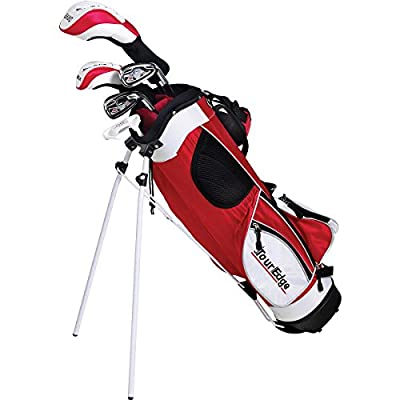 Tour Edge Boys' HT MAX-J 8-Piece Golf Set-Ages 9-12