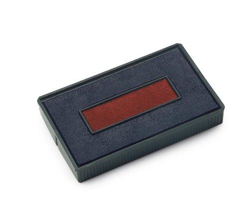 COLOP Ersatzstempelkissen E/200/2, blau/rot, Doppelpack 990047