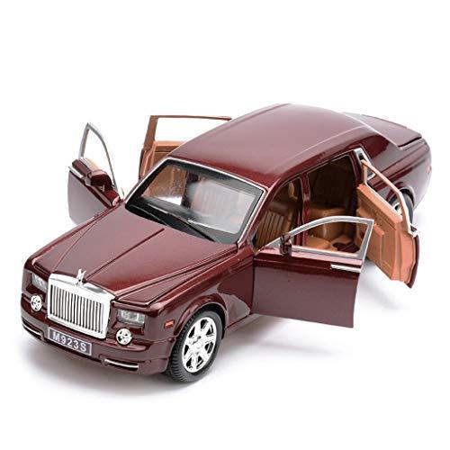 HBWJSH Coche Modelo 1:24 Simulación De Aleación De Fundición A Presión Adornos De Juguete Colección De Automóviles Deportivos Joyería 20.5x7.5x5 CM por HBWJSH