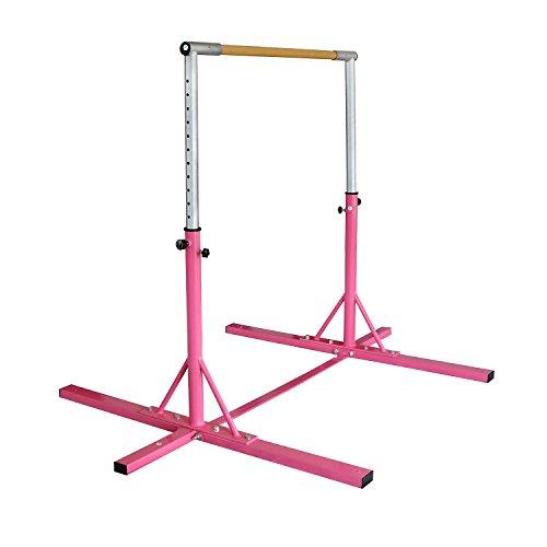 Bestmart INC Adjustable Horizontal train Bar Gymnastics Bar Junior kip Bar