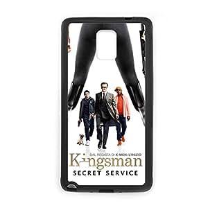 Diseño personalizado Kingsman con el servicio secreto Gel osificación teiéfono para afeminado para Galaxy Note 4 elegir diseño 2