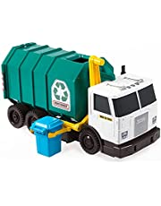 """Realistic Toy Truck for Recycling or Garbage 15"""" Large Scale, Sound FX Matchbox"""