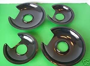 4sartenes de goteo de porcelana Jenn-Air láser