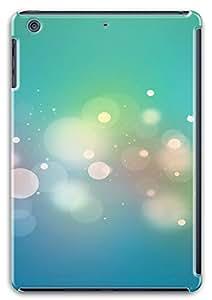 iPad Mini Retina Cases & Covers - Free White Circle And Light Green Background PC Custom Soft Case Cover Protector for iPad Mini Retina